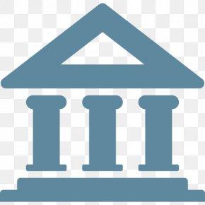 Bank Transparent - Bank Finance Iconfinder Icon PNG