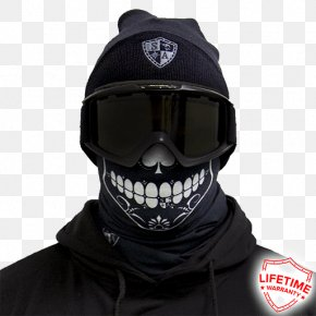 Face Shield - Bicycle Helmets Face Shield Kerchief Mask Neck PNG