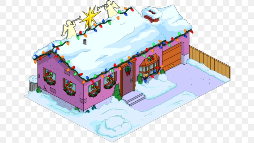 Superb The Simpsons Tapped Out House Santa Claus Homer Simpson Christmas Funny Birthday Cards Online Sheoxdamsfinfo