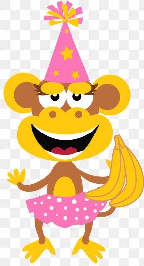 Monkey Clipart - Baby Monkeys The Evil Monkey Birthday Clip Art PNG