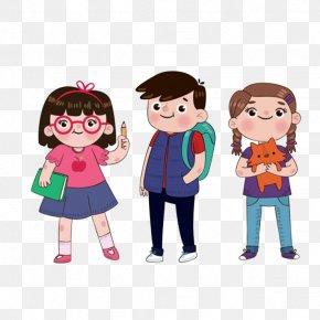 Animation Festival School Classmates Good Friends - Student School Estudante Download PNG