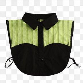 Fabric Aristocratic Temperament Shirt Collar Bust - Collar Shirt Designer PNG