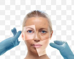 Facial Female Model - Dermatology Emergency Medicine Clinic Physician PNG