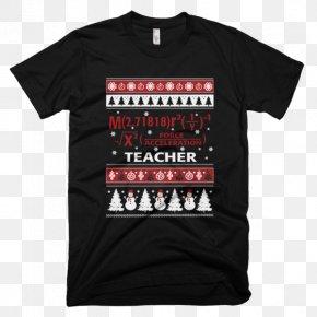 Creative Holiday T-shirt Mockup - T-shirt Christmas Jumper Hoodie Sweater Clothing PNG