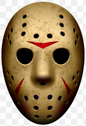 Jason Mask Friday The 13th Clip Art Image - Jason Voorhees Friday The 13th: The Game Michael Myers Friday The 13th Part III Goaltender Mask PNG