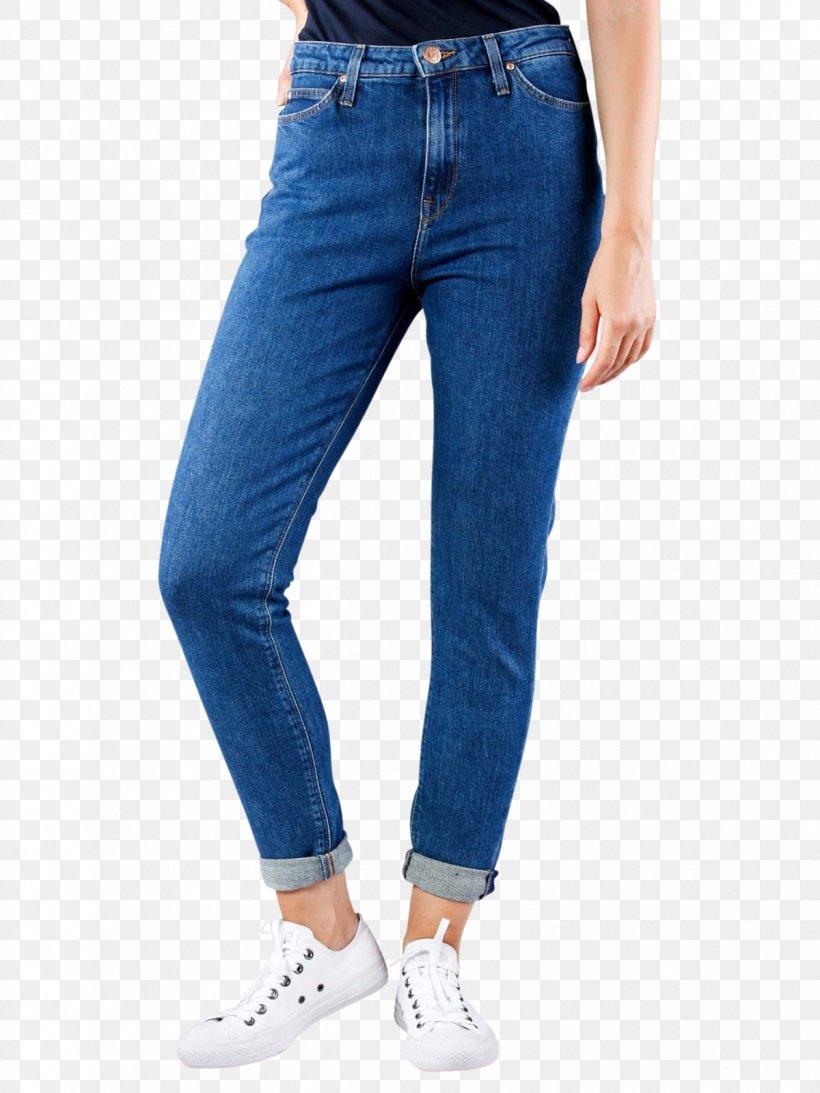 Mom Jeans Slim-fit Pants Lee Levi Strauss & Co., PNG, 1200x1600px, Jeans, Blue, Clothing, Cobalt Blue, Denim Download Free