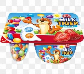 MILK WITH STRAWBERRY - Milk Zott Cream Chocolate Pudding Vegetarian Cuisine PNG