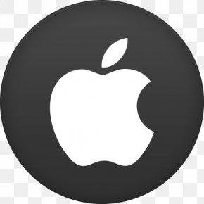 Apple 2 - Symbol Black Logo Circle PNG