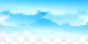 Blue Cartoon Cloud Clouds Fresh - Sky Energy Wallpaper PNG