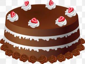 Chocolate Cake - Birthday Cake Chocolate Cake Clip Art PNG