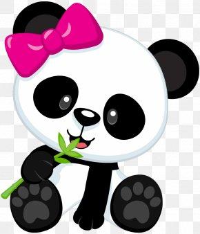 Cute Panda - Giant Panda Bear Baby Pandas Clip Art PNG