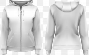 Vector Front And Back Of The Jacket - Hoodie T-shirt Stock Photography Royalty-free PNG