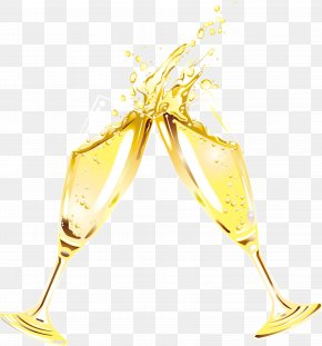 Champagne Glass - Champagne Glass Wine PNG