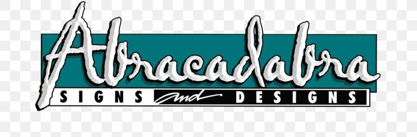 Logo Abracadabra Signs & Designs Brand Banner, PNG, 700x270px, Logo, Advertising, Area, Banner, Brand Download Free