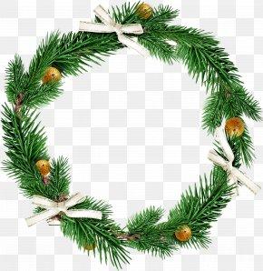 Christmas Decoration Circle - Christmas Decoration PNG