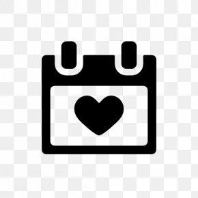 Calendar Icon - Computer Icons Valentine's Day Icon Design Heart Clip Art PNG