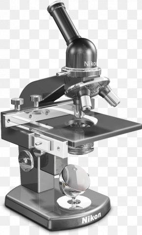 Digital Inverted Microscope - Optical Microscope Microscopy Biology Light PNG