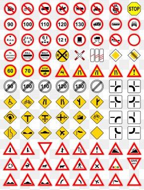 Vector Traffic Signage - Traffic Sign Logo PNG