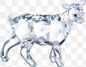 Goat - Cattle Goat Swarovski AG Crystal Calf PNG