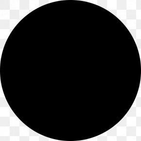 White Circle - Solar Eclipse Lunar Phase New Moon Lunar Calendar PNG