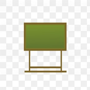 Green Chalkboard - Cartoon Wallpaper PNG