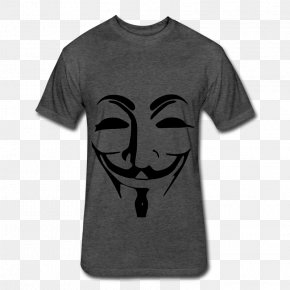 Anonymous - Anonymous We Are Legion T-shirt YouTube Disc Jockey PNG