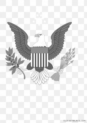 Symbol - Bald Eagle United States Of America Symbol Vector Graphics Clip Art PNG