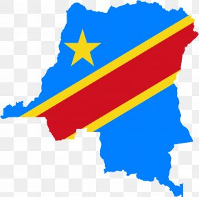Country - Flag Of The Democratic Republic Of The Congo Congo Free State Map PNG