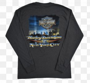 T-shirt - T-shirt Harley-Davidson Of New York City (MAIN SHOWROOM) Sleeve PNG