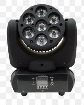 Moving Head Light Fixture Material - Intelligent Lighting Light-emitting Diode Stage Lighting Light Fixture PNG