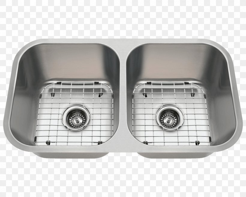 Kitchen Sink Stainless Steel Bowl, PNG, 1000x800px, Sink, Bowl, Brushed Metal, Hardware, Industry Download Free