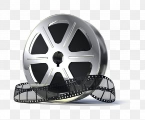 Silver Metal Footage - Reel Film Stock Photography PNG