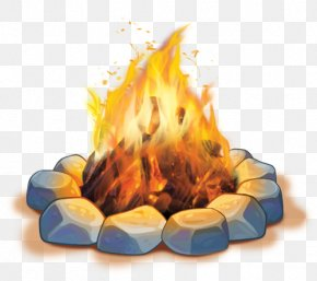 Campfire - S'more Vacation Bible School Camping Campfire Clip Art PNG