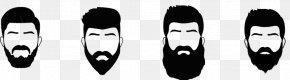 Beard Style - Beard Face Hairstyle Goatee Man PNG