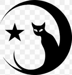 Crescent Moon And Star Pictures - Tattoo Moon Star And Crescent Clip Art PNG