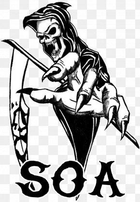 Reaper Cliparts - Death Drawing Human Skull Symbolism Memento Mori Art PNG