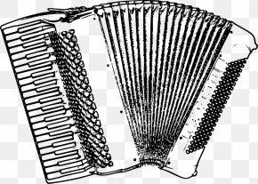 Piano - Diatonic Button Accordion Musical Instruments Clip Art PNG