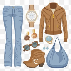Female Suits Clothing - Fashion Jacket Jeans Clothing PNG