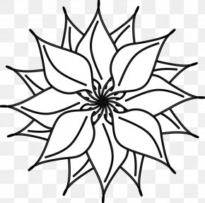 Flower Images Black And White - Flower Black And White Free Content Clip Art PNG