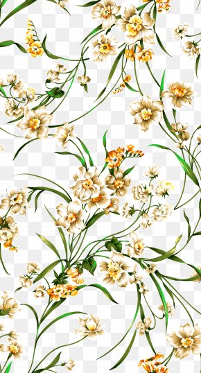 Hand-painted Orchid Pattern Background - Orchids Flower Postgraduate Admission Test PNG