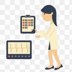 Vector Pattern Material Health Check - Euclidean Vector Hospital Health Material Clip Art PNG