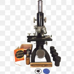 Microscope - Microscope Zoological Specimen Bausch & Lomb Optical Instrument Scientific Instrument PNG