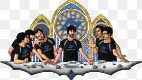 The Last Supper - The Last Supper League Of Legends Counter Logic Gaming Drawing Clip Art PNG