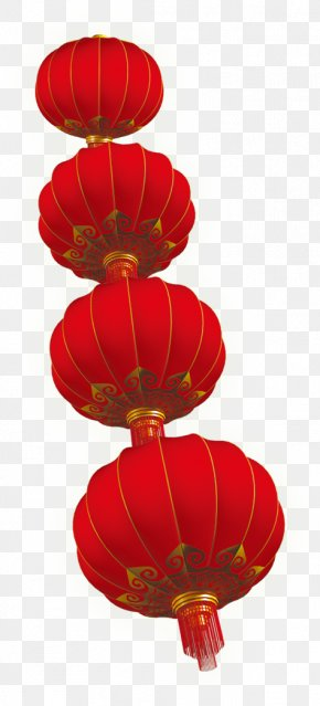 Red Lantern Chinese New Year Series - Chinese New Year Lantern Festival New Years Day PNG