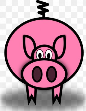 Animated Pigs Pictures - Domestic Pig Pig Roast The Three Little Pigs Clip Art PNG