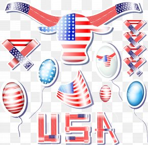 Vector American Flag - Flag Of The United States Clip Art PNG