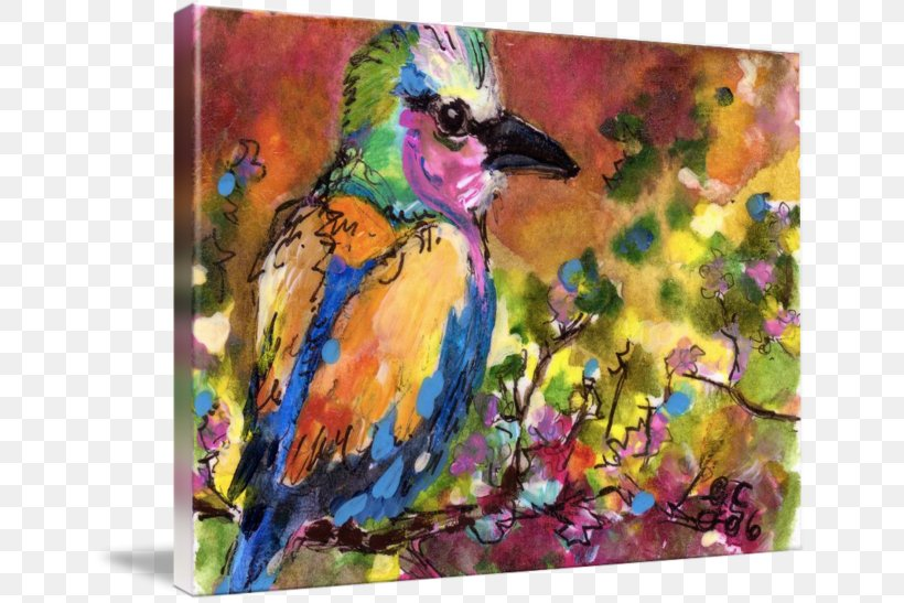 Watercolor Painting Bird Acrylic Paint, PNG, 650x547px, Painting, Acrylic Paint, Acrylic Resin, Art, Art Museum Download Free