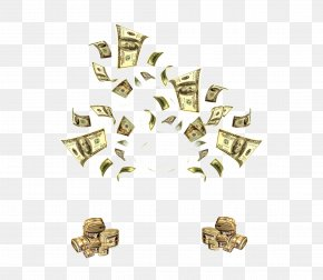 Flying Money - Money Flying Cash Clip Art PNG
