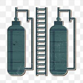 Plastic Bottle Wash Bottle - Factory Icon PNG