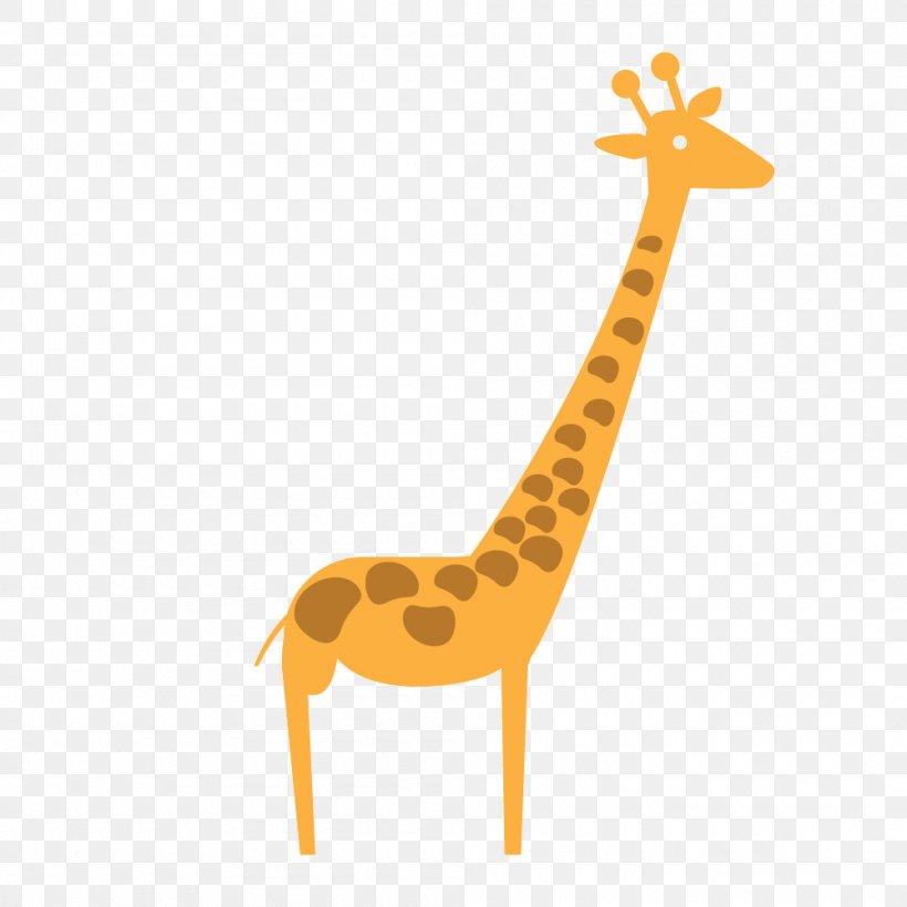 Giraffe Cartoon Clip Art, PNG, 1000x1000px, Giraffe, Cartoon, Child, Giraffidae, Mammal Download Free